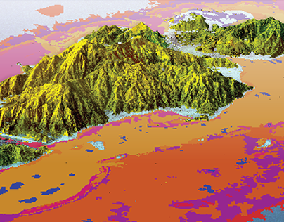 3D Mapping: Benthic habitats surrounding Guanaja Island