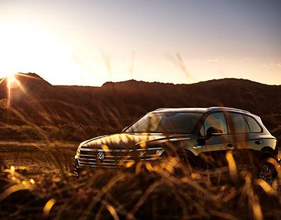 VW Touareg on Sylt