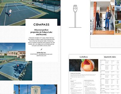 Compass – Print, Web, Illustration