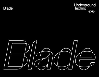 Blade - Artwork & Logotype