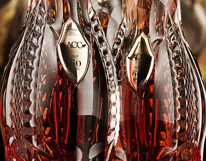 Luxury Whisky bottle for ACC.