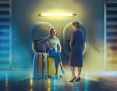 Suitcases travel Campaign