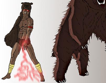 Skinwalker Villain Concept