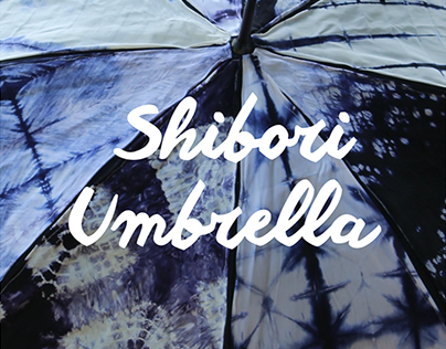 Shibori Umbrella