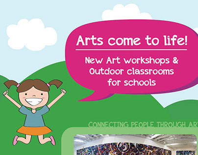 Arts come to life! // Direct Mailer