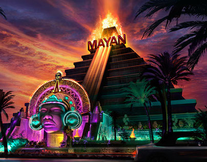 Concept design for Mayan Casino and Resort Hotel