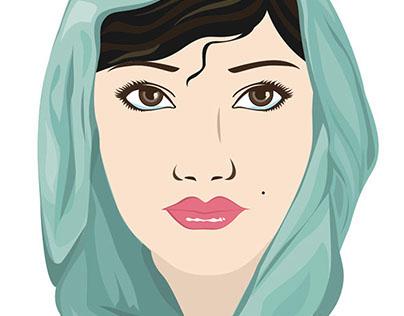 Book cover design // Badai Semalam