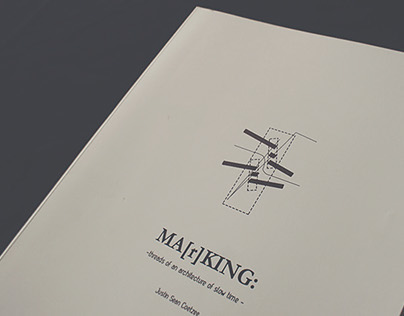 Ma[r]king - Architecture Dissertation Book