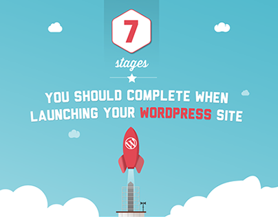 7 stages to complete when launching your wordpress site