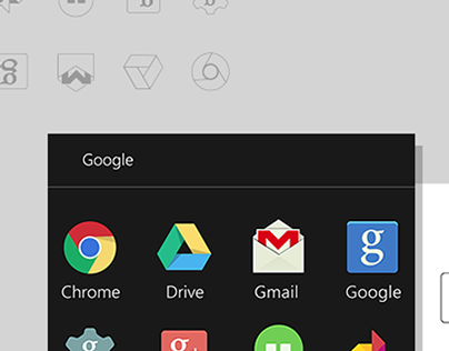 Google Group Apps Flat Icons Redesign