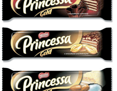 Nestle - Princessa Gold packaging