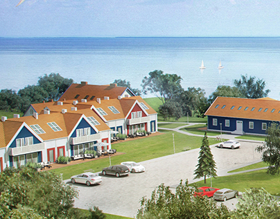 3D houses visualization, Nida