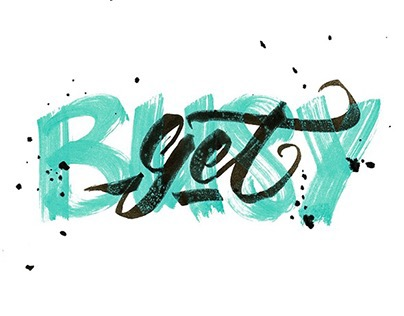 Hand lettering #7
