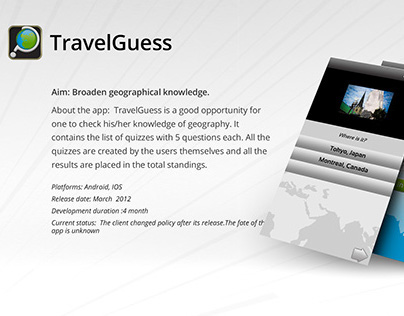 Travel Guess
