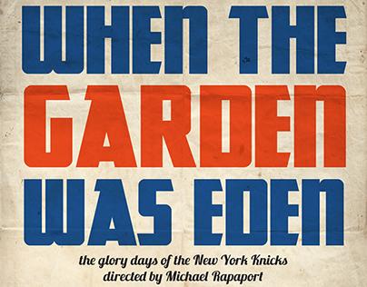 """""""When The Garden Was Eden"""" Doc. film titles"""