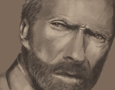 Clint Eastwood I Personal Work 2014