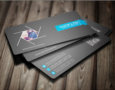 Creative Modern Photography Business Card Template 03