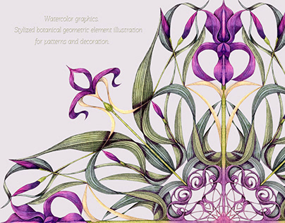Geometric ornamental botany
