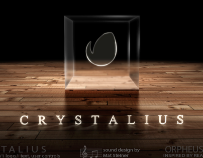 'Crystalius - Cube Logo' - AE Template