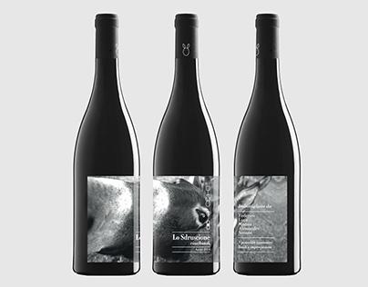 Lo Sdruscione / etichetta vino