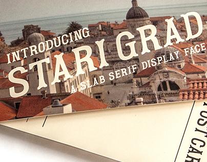Stari Grad Typeface