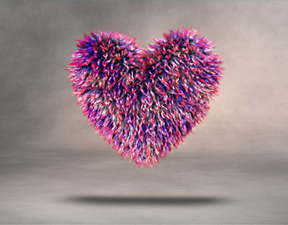 Gift Hearts 3D