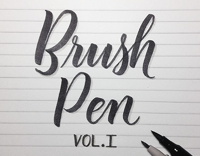 365 Rounds - Brush Pen - Vol. 1