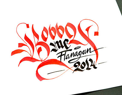 Hand Lettering Vol.1 - 250 Calligraphy