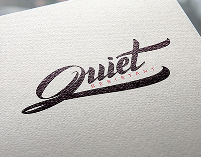Quiet Resistant Logotype