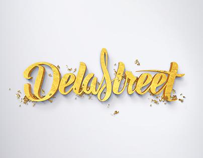 De La Street, Lettering, logo