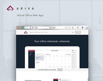 Ariva  Virtual Office Web App