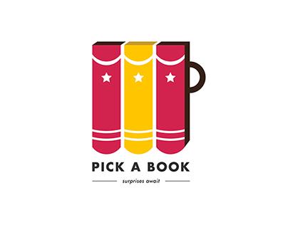 Pick A Book – Logo