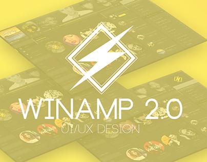 Winamp 2.0 UI