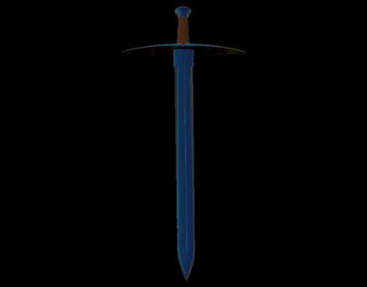 3D Prop Concept - Turin's Sword (Anglachel)