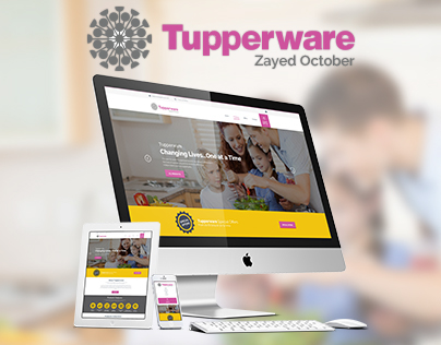 Tupperware Zayed October Website