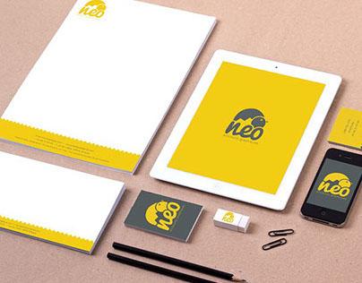 Visual identity of the neo agency