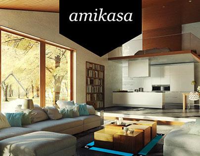 Amikasa Mobile App