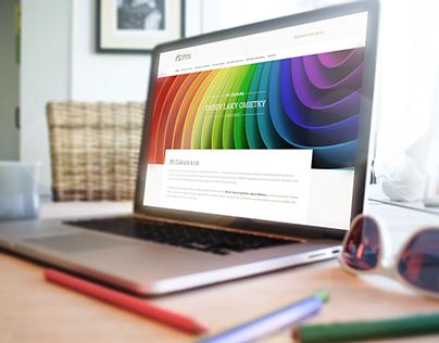 PS Colours website