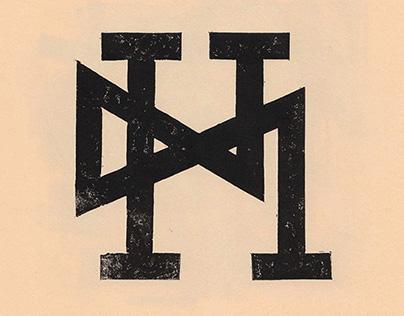 Linol Cut Letters
