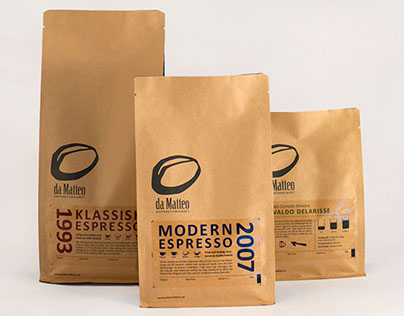 da Matteo Specialty Coffee Roastery – coffee bags