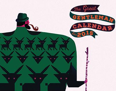 The Great Gentleman Calendar for 2015