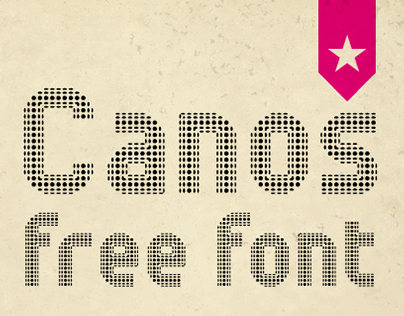 Canos - Free font