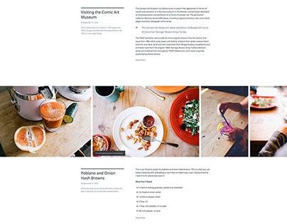Camera Wordpress Blog Theme by array.is
