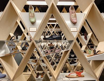 ARTIZEN pop - up shoe store
