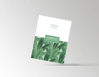 A Green Act book