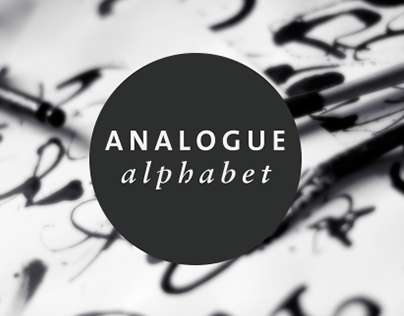 Analogue Alphabet