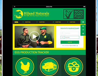 Hiland Naturals App | Proof of Concept