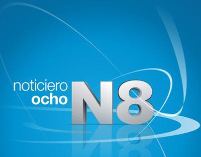N8 Noticiero ocho | Marca Identidad