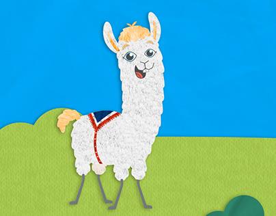 Loca the language llama