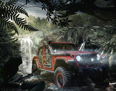 Rubicon Jungle - Matte Painting